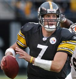 Big Ben Rothlisberger QB Steelers