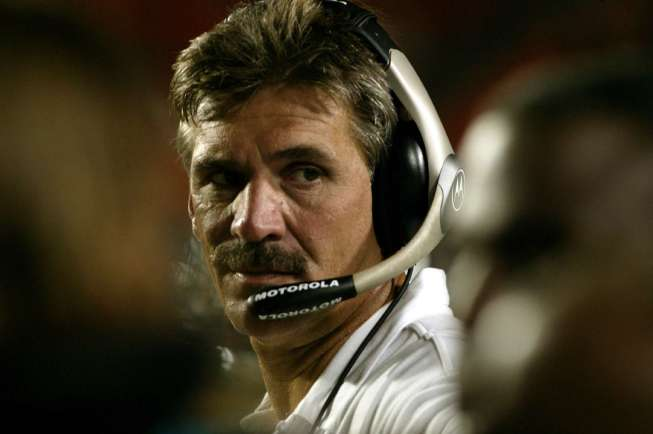 Pittsburgh Panthers Coach Dave Wannstedt