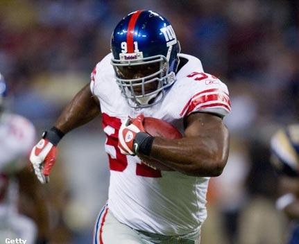 Justin Tuck's Interception for a TD