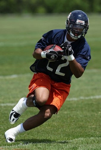 Rookie Matt Forte, seems to have all the tools to be a great NFL RB