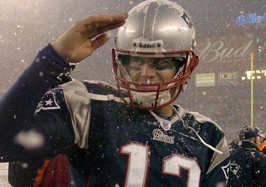 Tom Brady as well as SportsRoids Salutes Pink Hat Nation