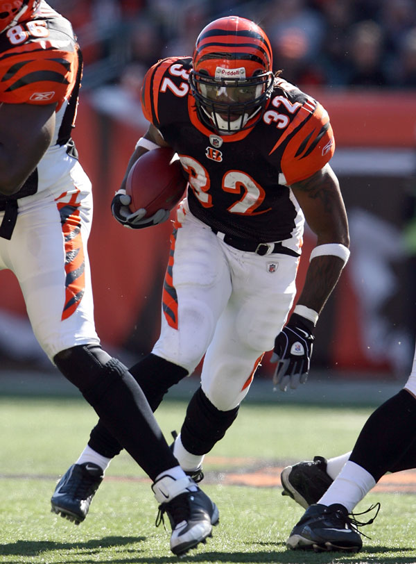 Cedric Benson Starting RB for the Bengals