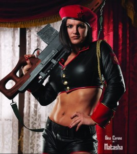 Gina Carano in Red Alert