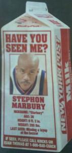 Where's Marbury