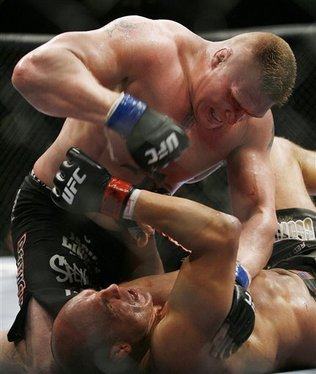brock lesnar full fight