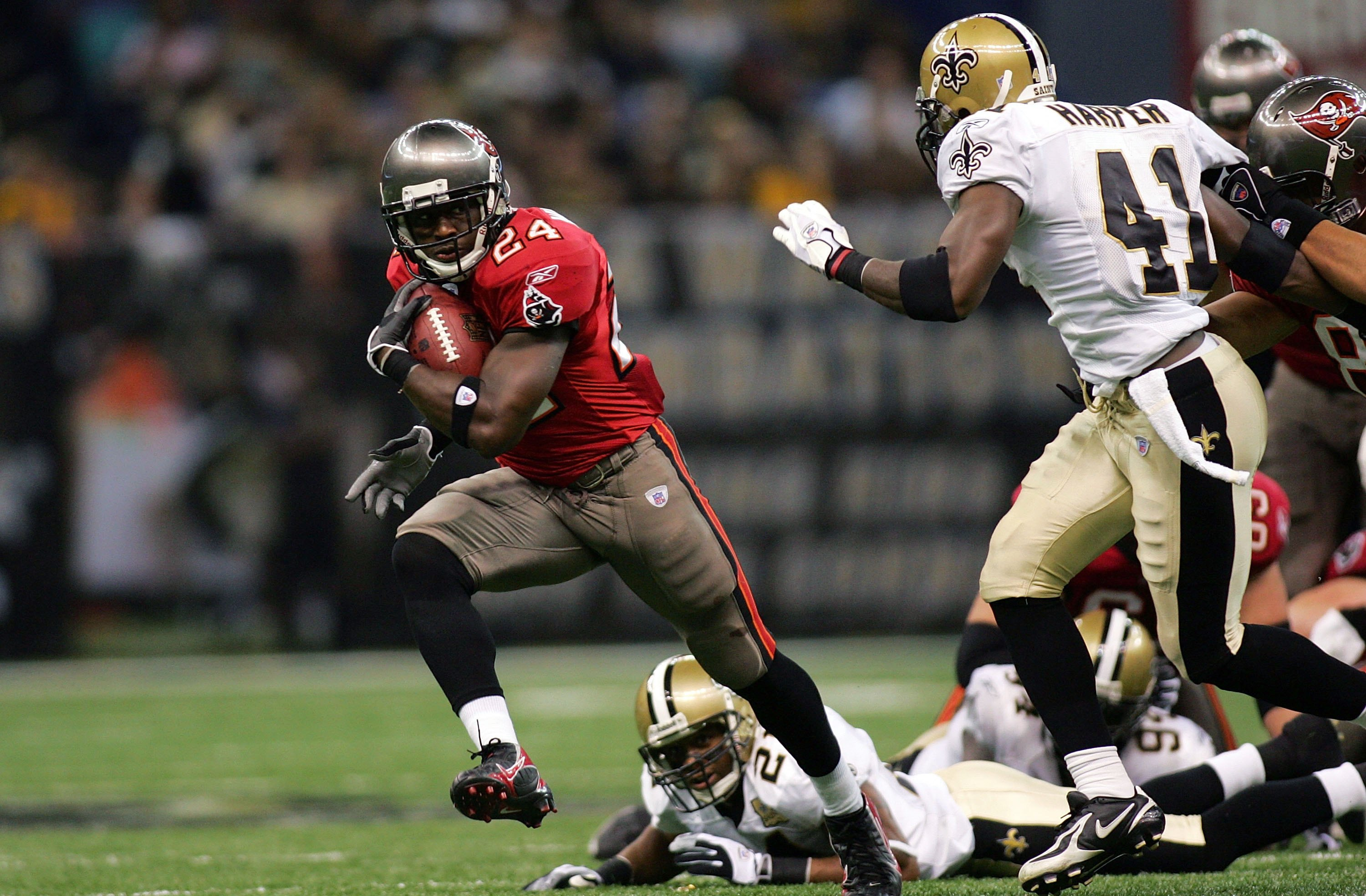 "Carnell ""Cadillac"" Williams RB Tampa Bay Bucs"