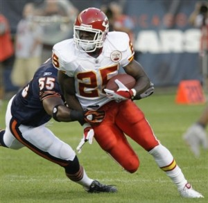 Jamaal Charles Kansas City Cheifs RB