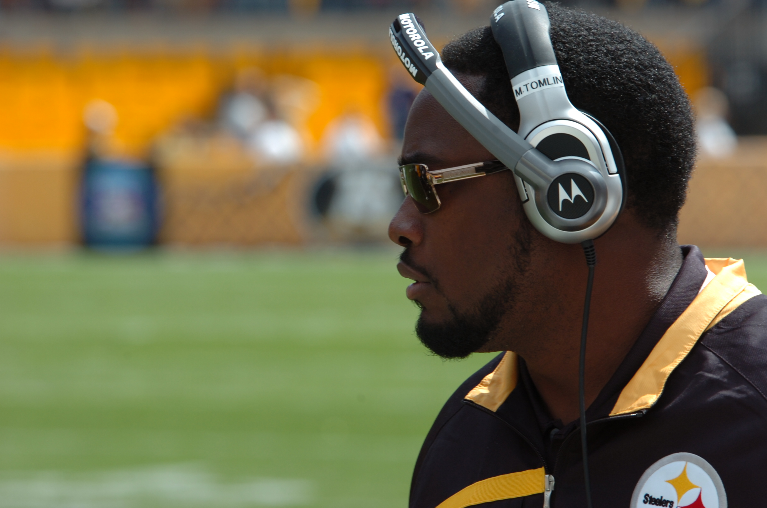 Mike Tomlin Coach of the 2009 Pittsburgh Steelers