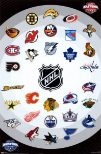 nhl logos poster 198x300 Short Blurbs From Around The League