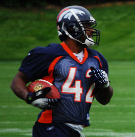 Ryan Torain RB Denver Broncos