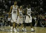 With Manu Ginobli out, the trio of Duncan, Parker, and Finley look to be the big three for San Antonio.