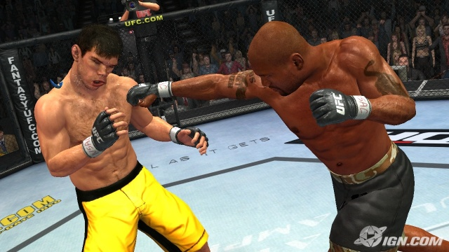 undisputed screenshot UFC video game Undisputed to arrive spring 2009