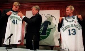 Steve Nash and Dirk