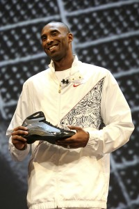 "Kobe showing off the New ""Hyperdunks!"""