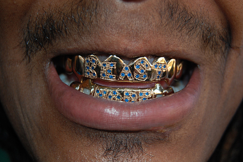 Marshawn Lynch's beast mode grill!