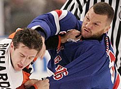 sean avery fight Stars Dismiss Avery