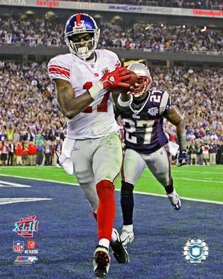 Plaxico Burress Scores Super Bowl Winning TD