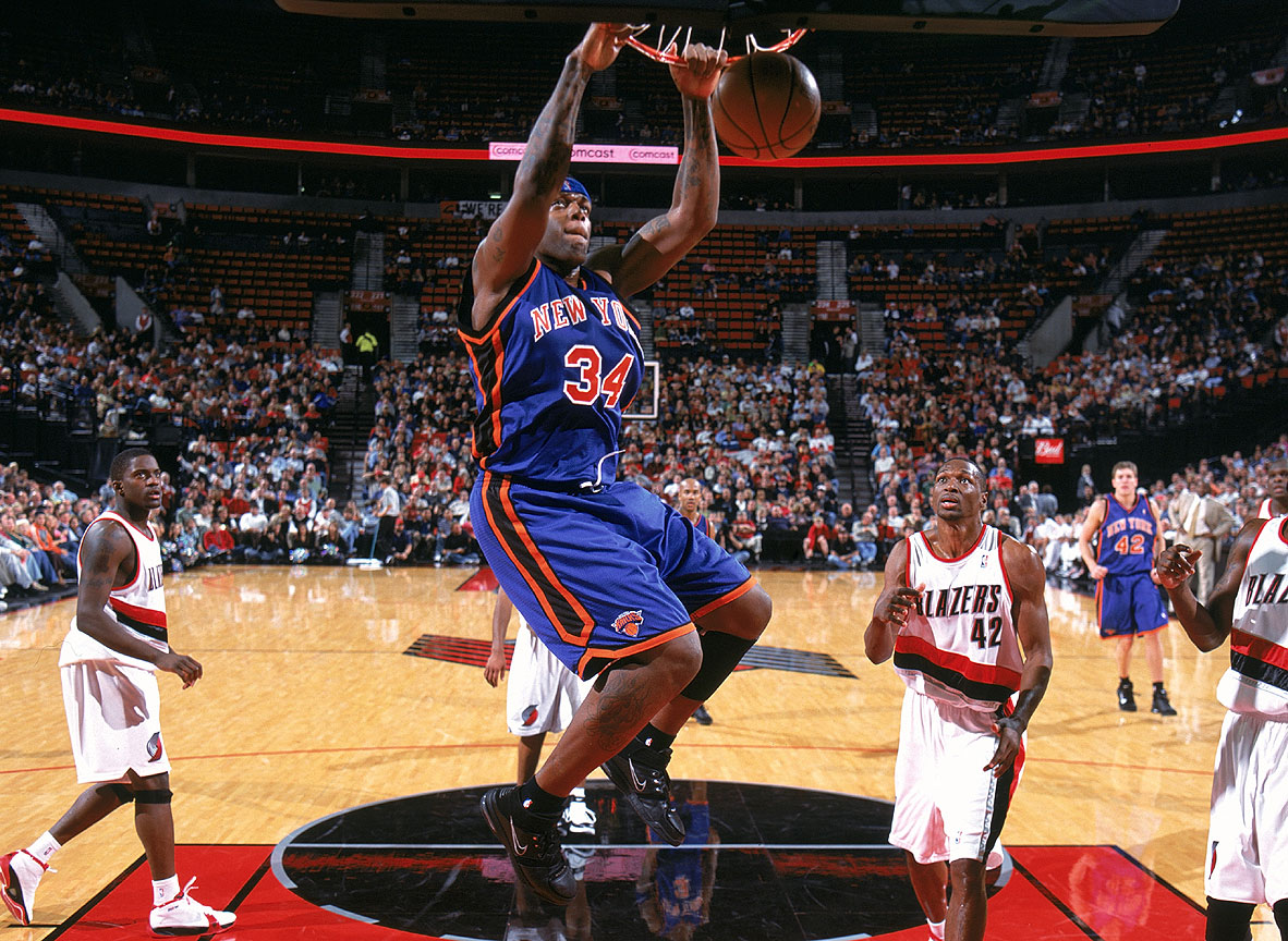 eddy curry loves dunking nba Eddie Curry, The man with the Heaviest Heart!