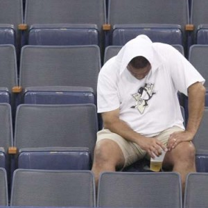 penguin fan distraught 300x300 Talent Not Enough for Penguins