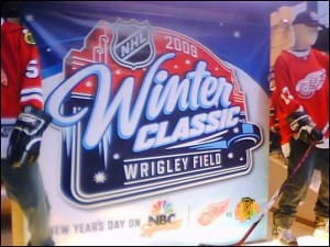 winter classic store image 300x225 Wrigley Field Shines, Second Winter Classic a Success