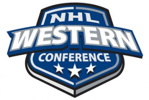 nhl west 300x203 Western Conference Race Heating Up