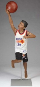 Michael Jackson's child NBA action figure