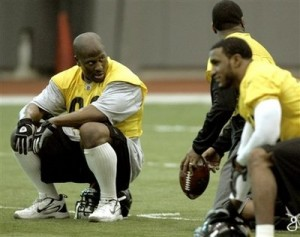 james harrison 300x237 To Harrisons defense.