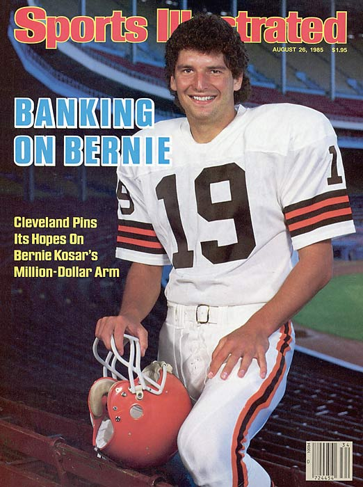 Bernie Kosar is Broke Funny pic Bernie Kosar might be broke but he is still a hero to us!