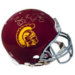 Reggie Bush Singed Helmet Buy a Reggie Bush Autographed USC Helmet at a great price