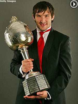 ovechkin hart trophy Ovechkin Nets Hart Trophy at NHL Awards