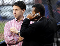 Jeff Wilpon and Tony Bernazard