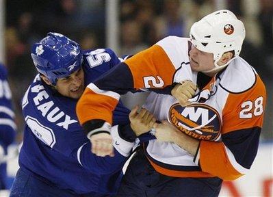 Maple Leafs Islanders Hockey