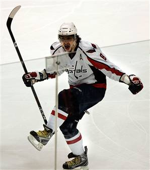 ovechkin funny pose Opening Weekend Success