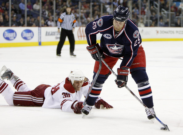 blue jackets away Blue Jackets For Real; Conference On Notice