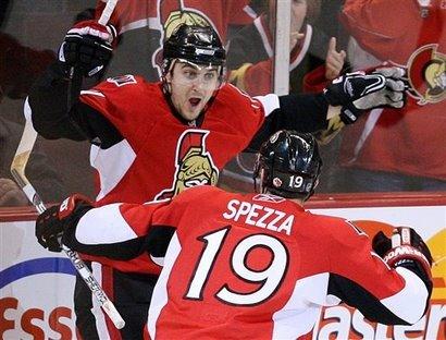 Penguins Senators Hockaey