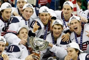 USA Juniors win 300x203 USA Wins World Juniors; Flyers Return to Form