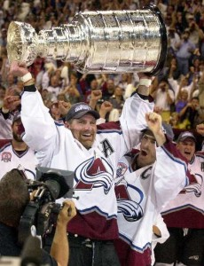 avalanche glory days 230x300 Olympics End but Great Hockey Continues